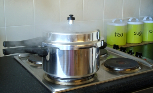 pressure-cooker-on-stove